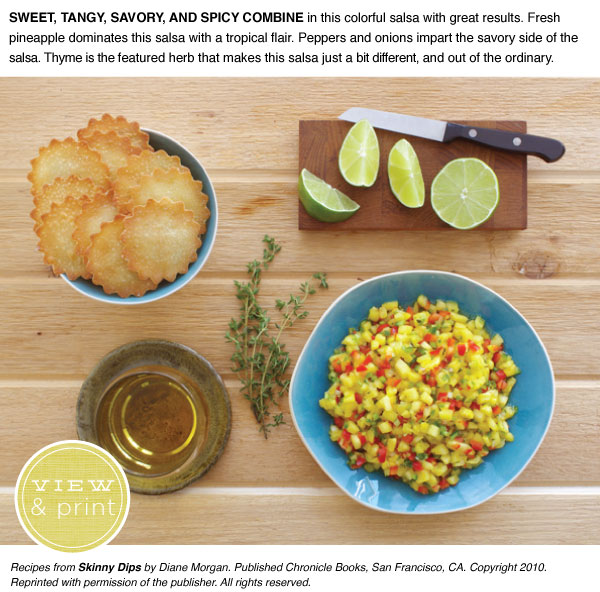 RECIPE: Pineapple, Red Pepper, Jalapeno Salsa