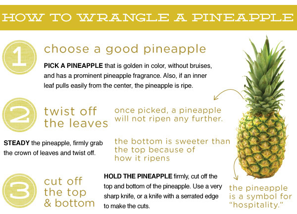 How To Wrangle a Pineapple