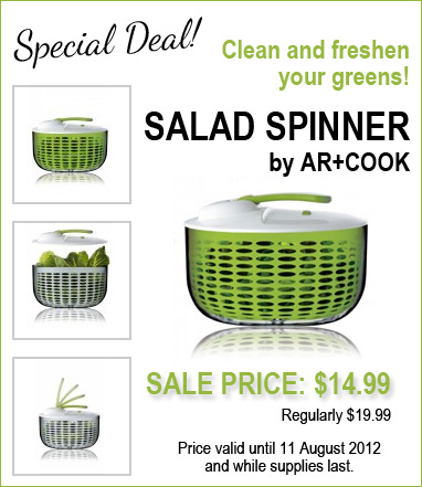Salad Spinner Feature