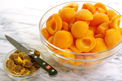 Prepped Apricots