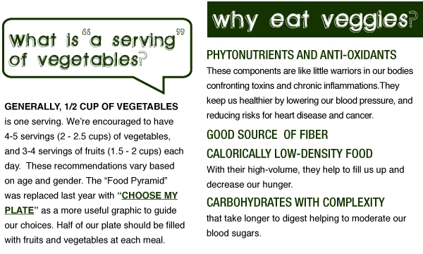 Why Eat Veggies?