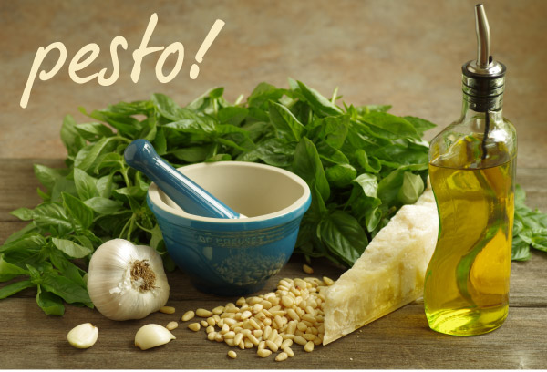 Put Your Pesto On!