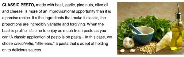 RECIPE: Classic Pesto