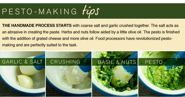 Pesto-Making Tips
