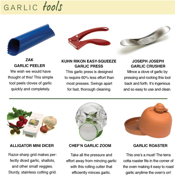 Garlic Tools