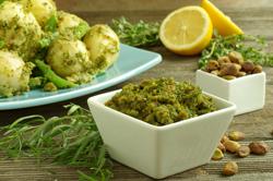 Pistachio-Herb Pesto