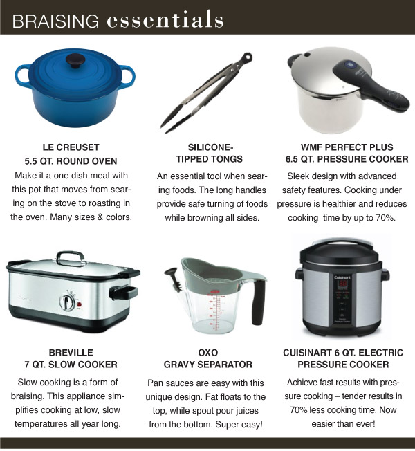 Braising Essentials