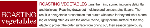 Roasting Vegetables
