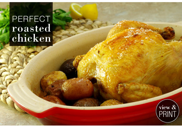 RECIPE: Perfect Roasted Chicken