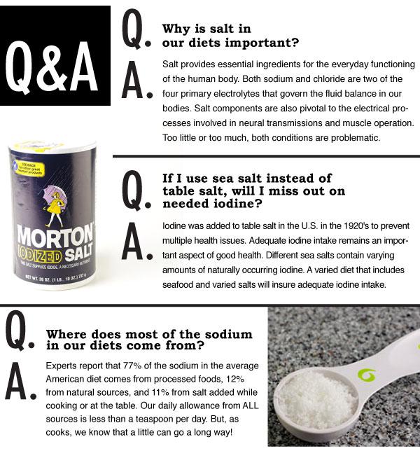 Salt Q&A