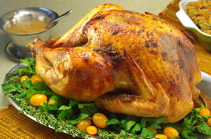 Roast Turkey with Maple Balsamic Butter Rub