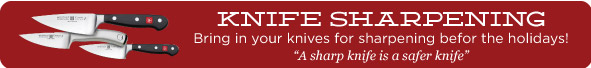 Get Your Knives Sharpened