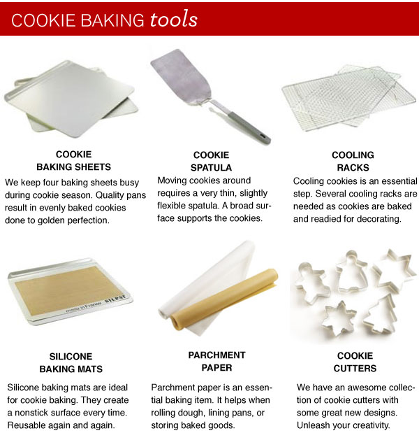 Cookie Baking Tools