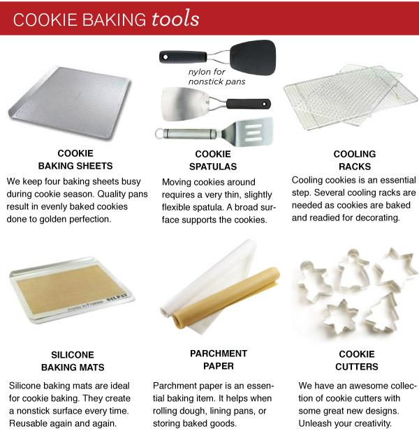 Cookie Baking Tools
