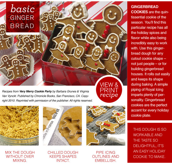 RECIPE: Basic Ginger Bread