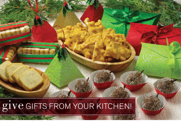 Give Gifts from your Kitchen