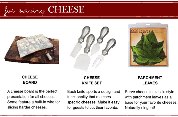 For Serving Cheese