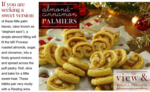 RECIPE: Almond-Cinnamon Palmiers