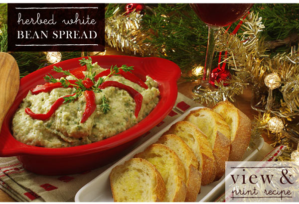 RECIPE: Herbed White Bean Spread