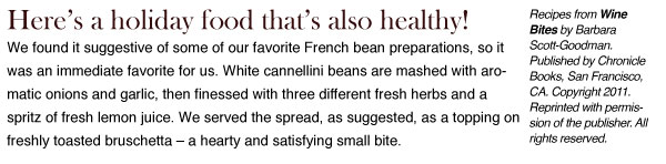 RECIPE: Herbed White Bean Spread