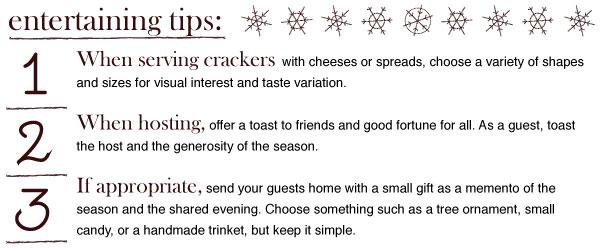 Entertaining Tips