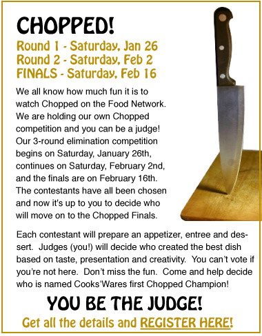CW's Chopped Competition