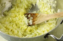 Sauteeing Onions