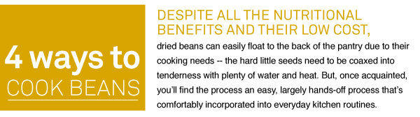 4 Ways to Cook Beans