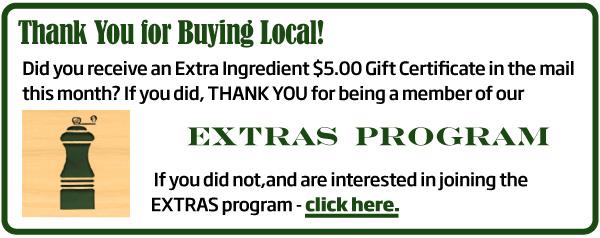 Extras Program