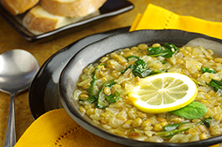 Sahadi's Lebanese Lentil Soup with Spinach