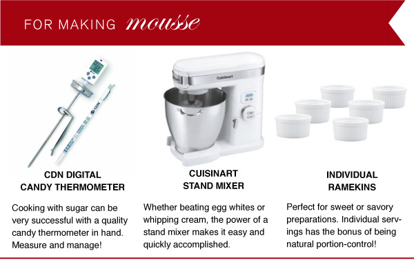 For Making Mousse