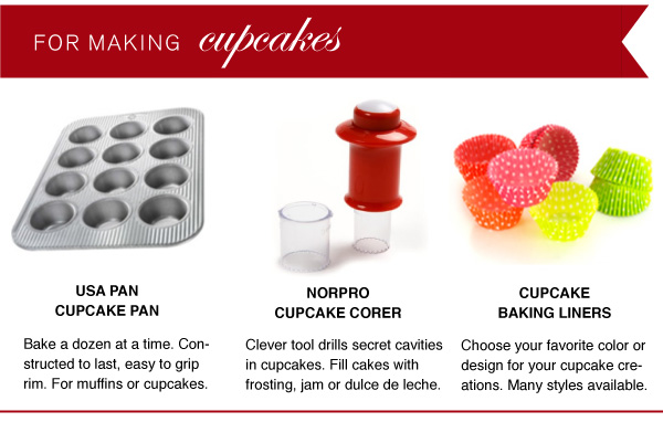 For Making Cupcakes
