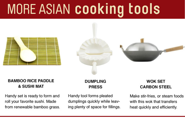 Asian Cooking Tools