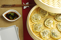 Steamed Vegetable Dumplings&nbsp;