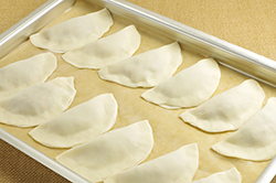 Dumplings Ready to Boil