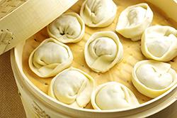 Dumplings in Steamer