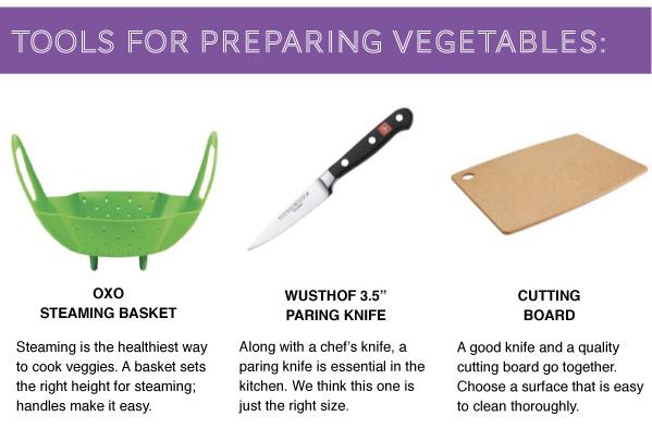 Tools for Veggies