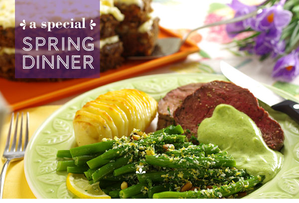 A Special Spring Dinner