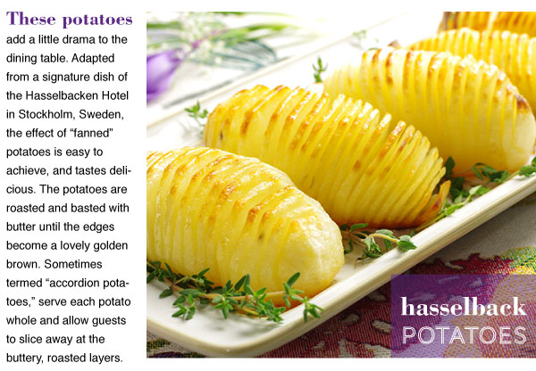 RECIPE: Hasselback Potatoes