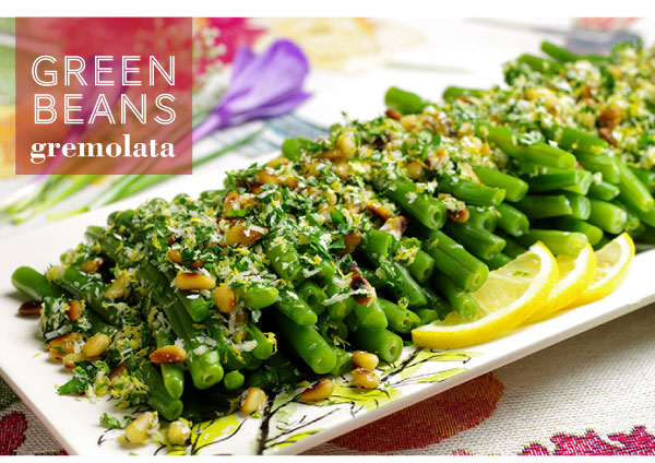 RECIPE: Green Beans Gremolata