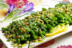 Green Beans Gremolata