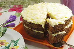 Carrot Cake with Ginger Mascarpone Frosting