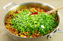 Peas and Scallions
