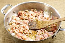 Bacon Sauteing
