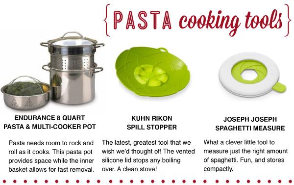 Pasta Cooking Tools