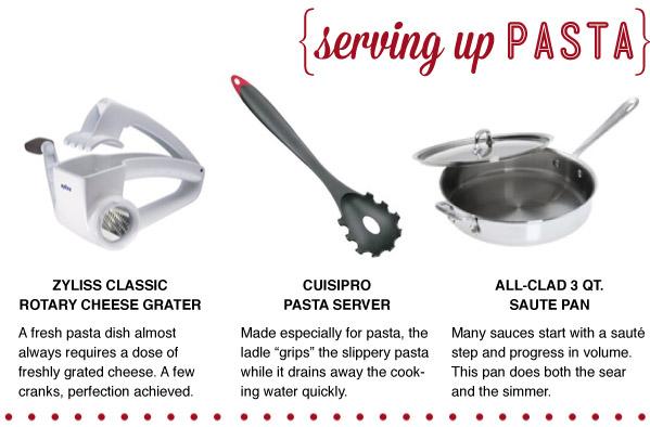 Serving Up Pasta