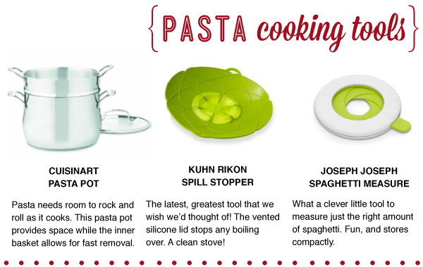 Pasta Cooking Tools