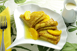 Butter and Rum Crepes