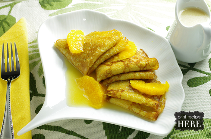 Butter and Rum Crepes, Fancy and Plain