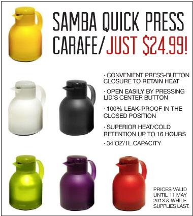 Samba Quick Press
